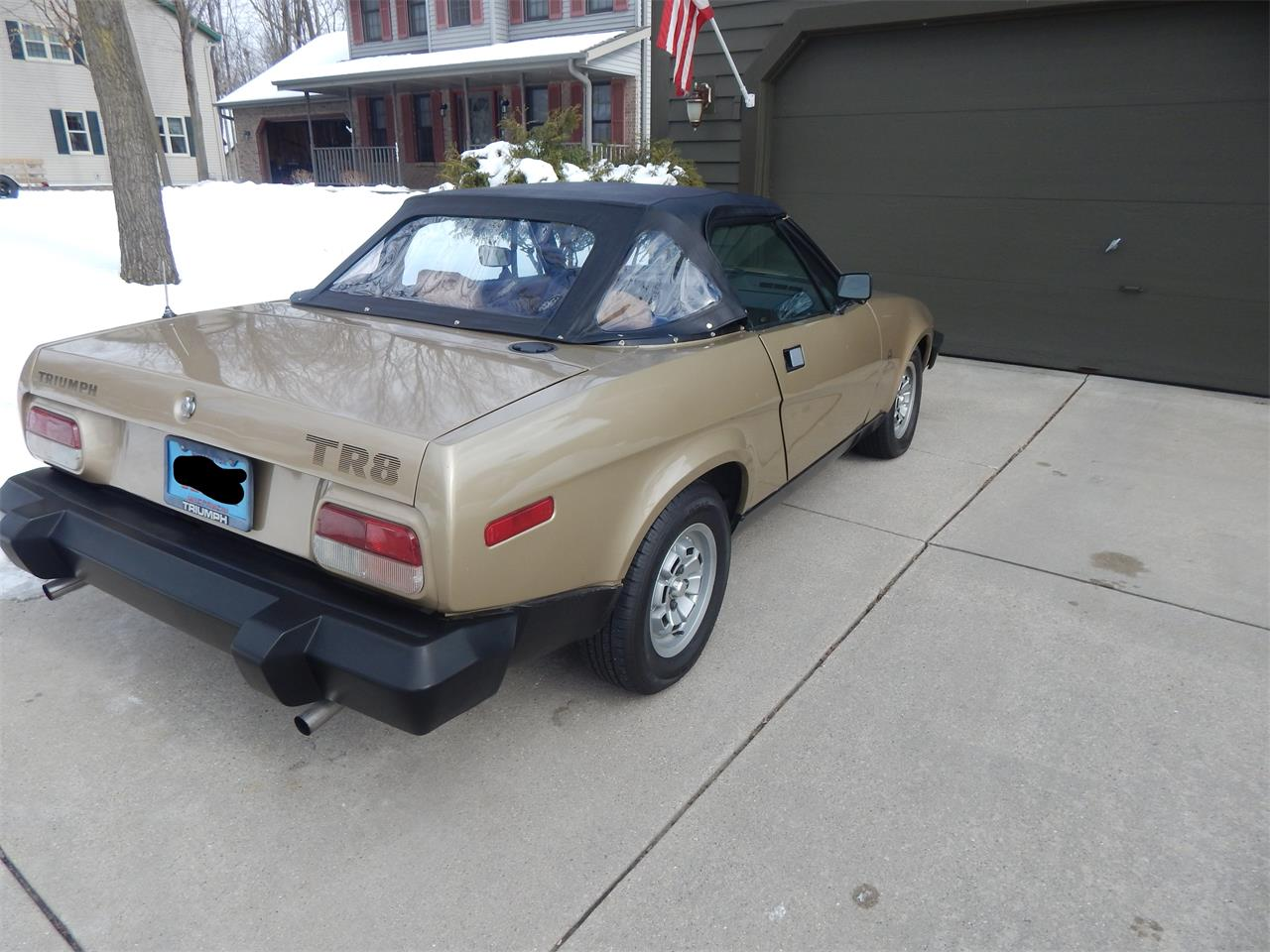 1980 Triumph TR8 (CC-1179962) for sale in West Bend, Wisconsin