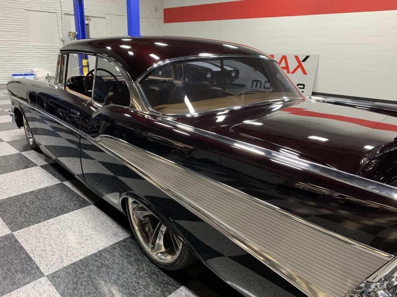 1957 Chevrolet Full Size Car Left Hood Hinge