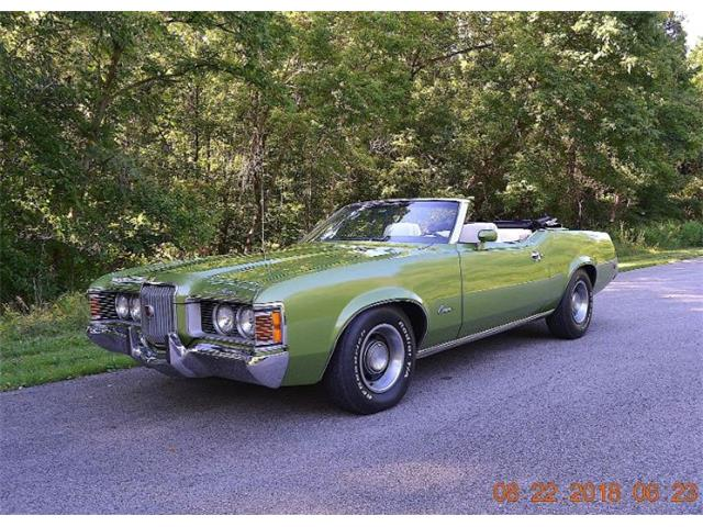 1972 Mercury Cougar (CC-1183187) for sale in Cadillac, Michigan