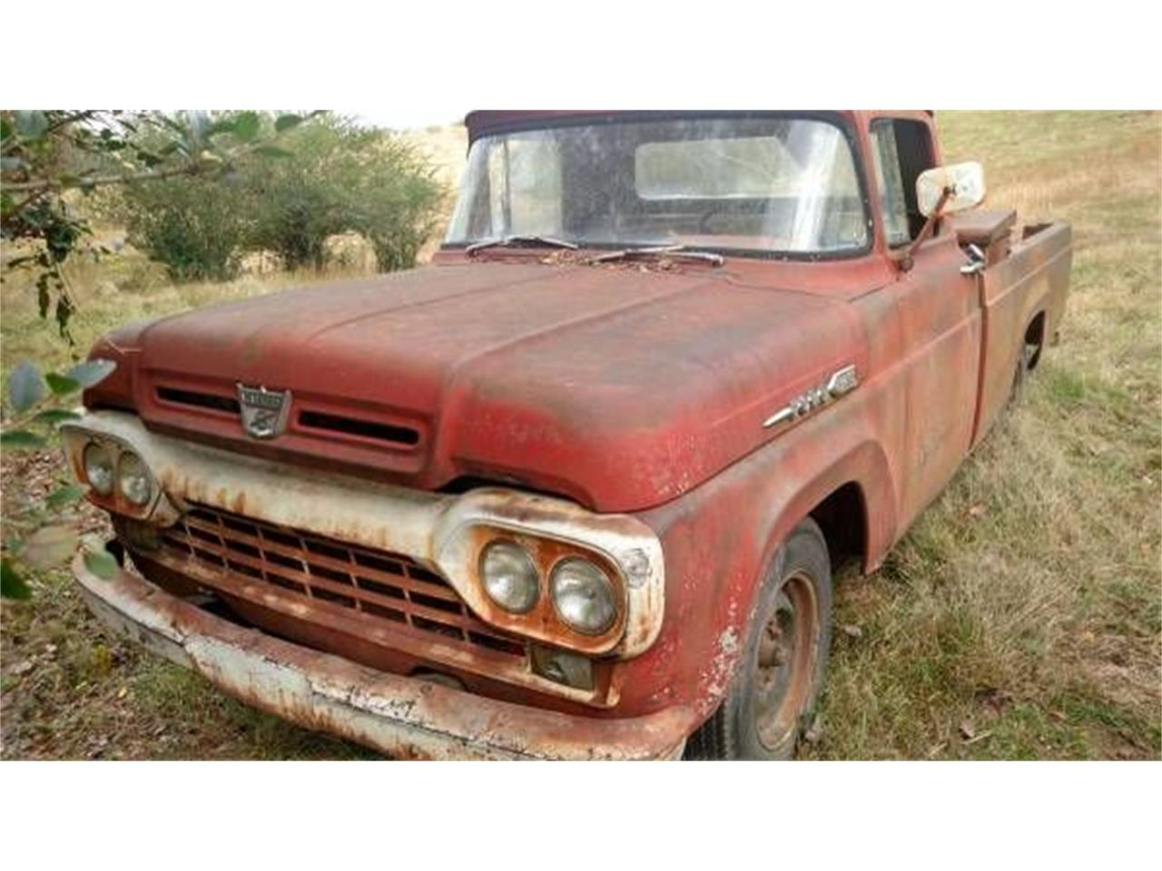 1960 Ford F100 (CC-1183506) for sale in Cadillac, Michigan