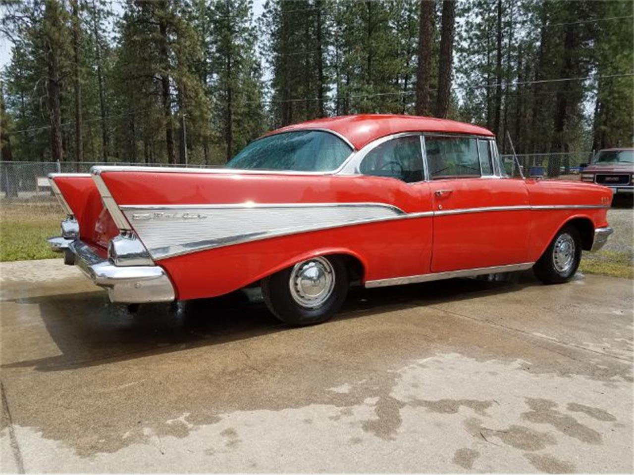 1957 Chevrolet Bel Air (CC-1183509) for sale in Cadillac, Michigan