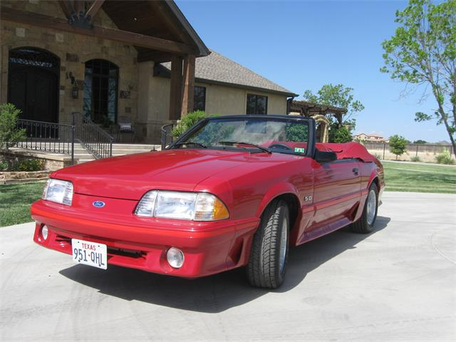 1987 Ford Mustang GT (CC-1183716) for sale in Lubbock, Texas