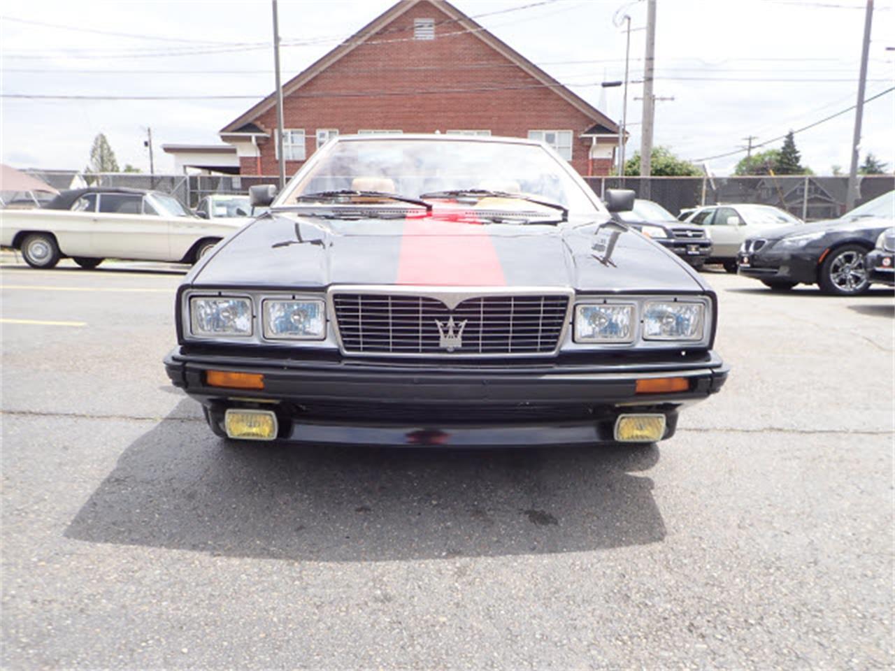 1986 Maserati Spyder (CC-1184561) for sale in Tacoma, Washington