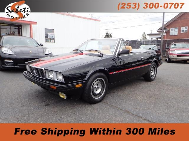 1986 Maserati Spyder (CC-1184561) for sale in Tacoma, Washington