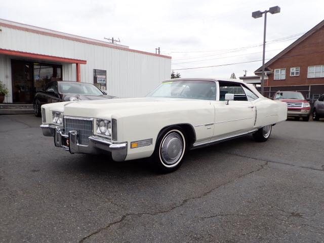 1971 Cadillac Eldorado (CC-1184595) for sale in Tacoma, Washington