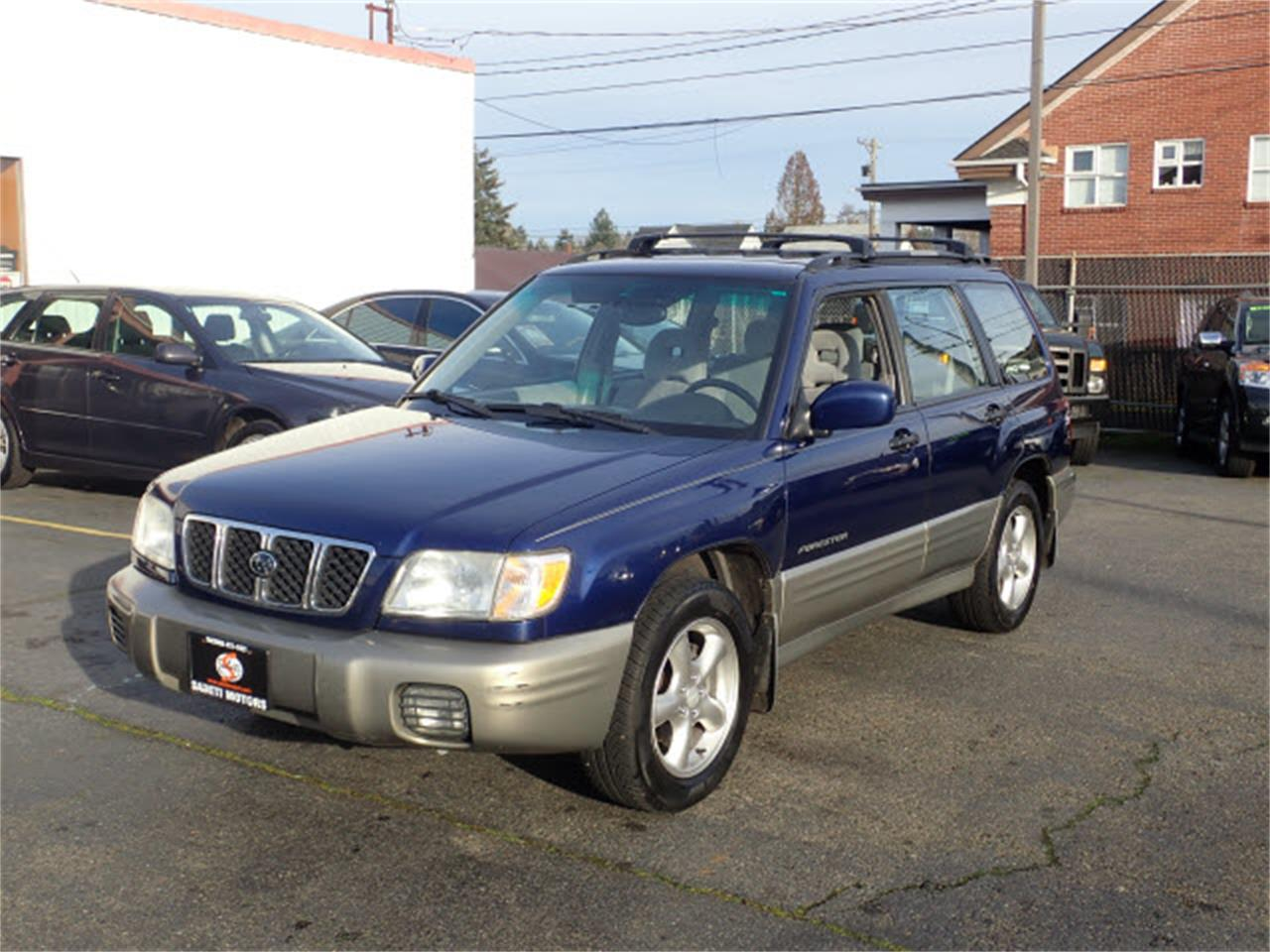 2001 subaru forester for sale classiccars com cc 1184628 2001 subaru forester for sale
