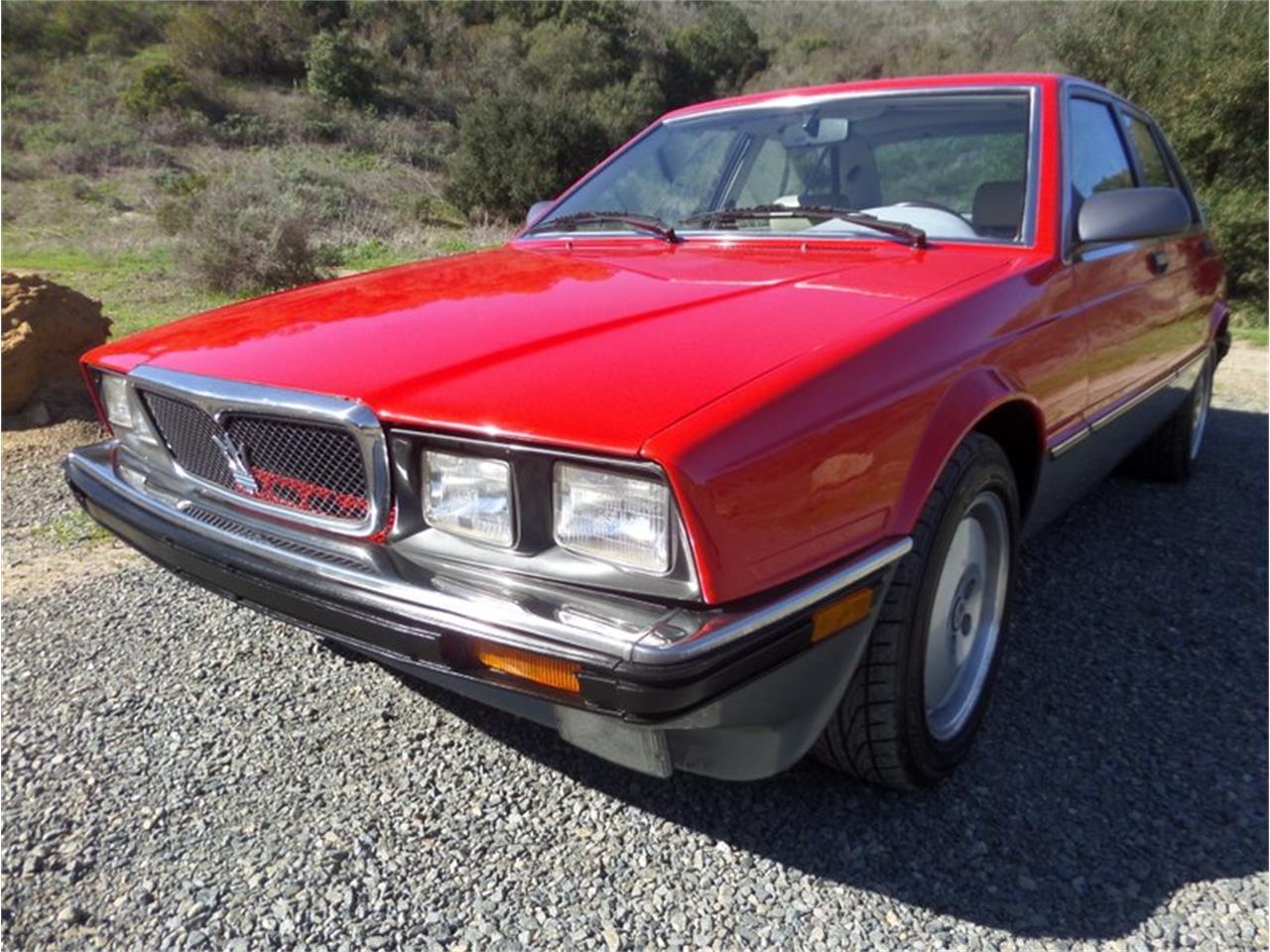1989 Maserati Biturbo for Sale   ClassicCars.com   CC-1180047
