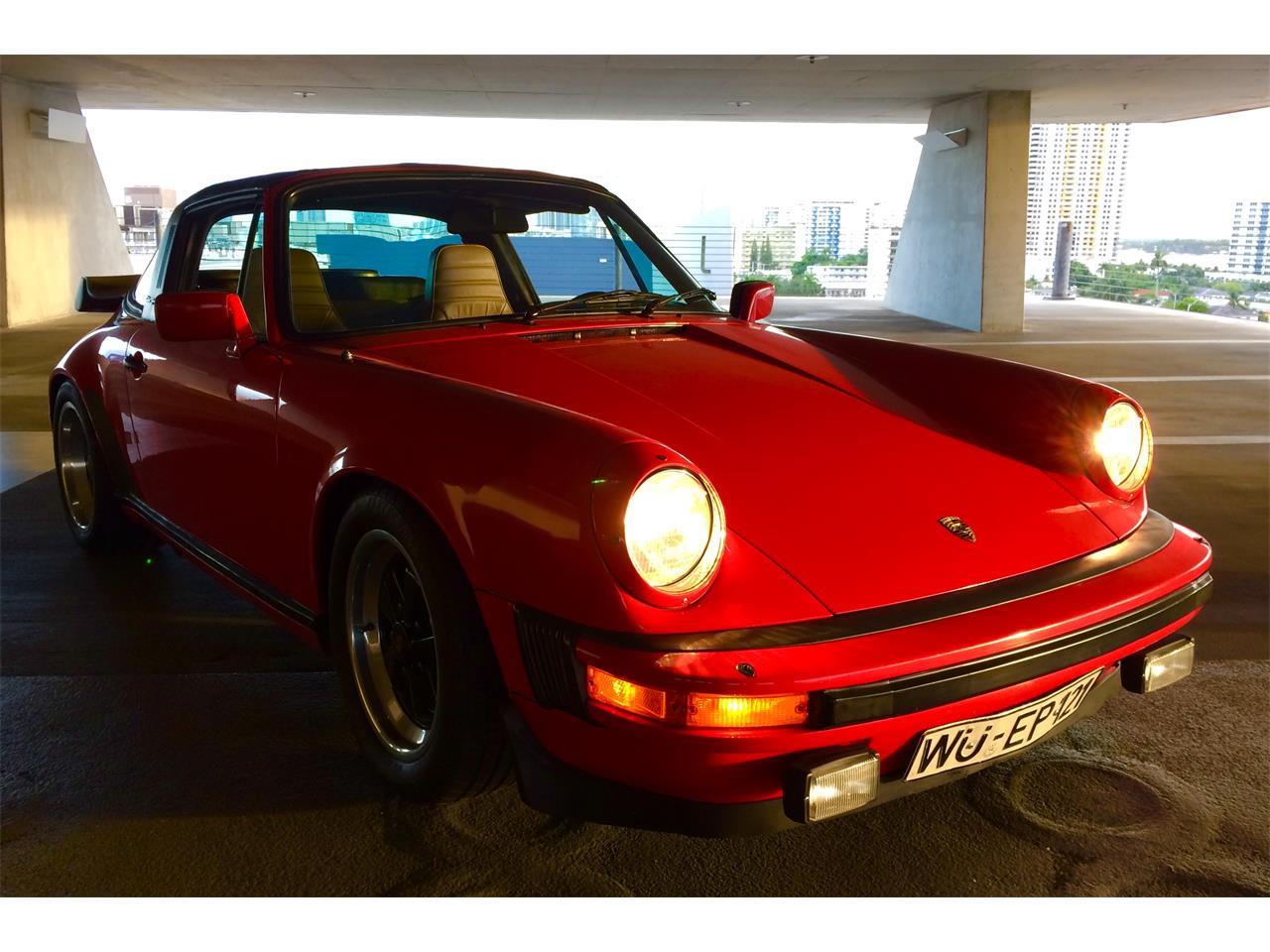 1982 Porsche 911SC (CC-1185015) for sale in Miami Beach, Florida