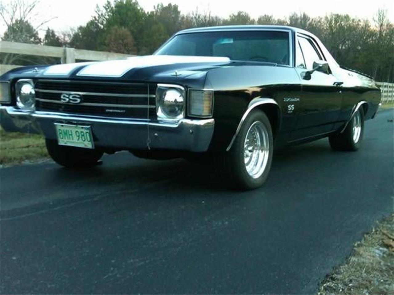 1972 Chevrolet El Camino (CC-1185072) for sale in Cadillac, Michigan
