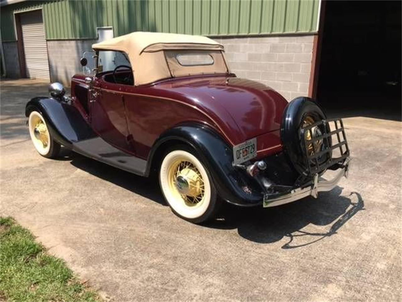 1934 Ford Roadster (CC-1185150) for sale in Cadillac, Michigan