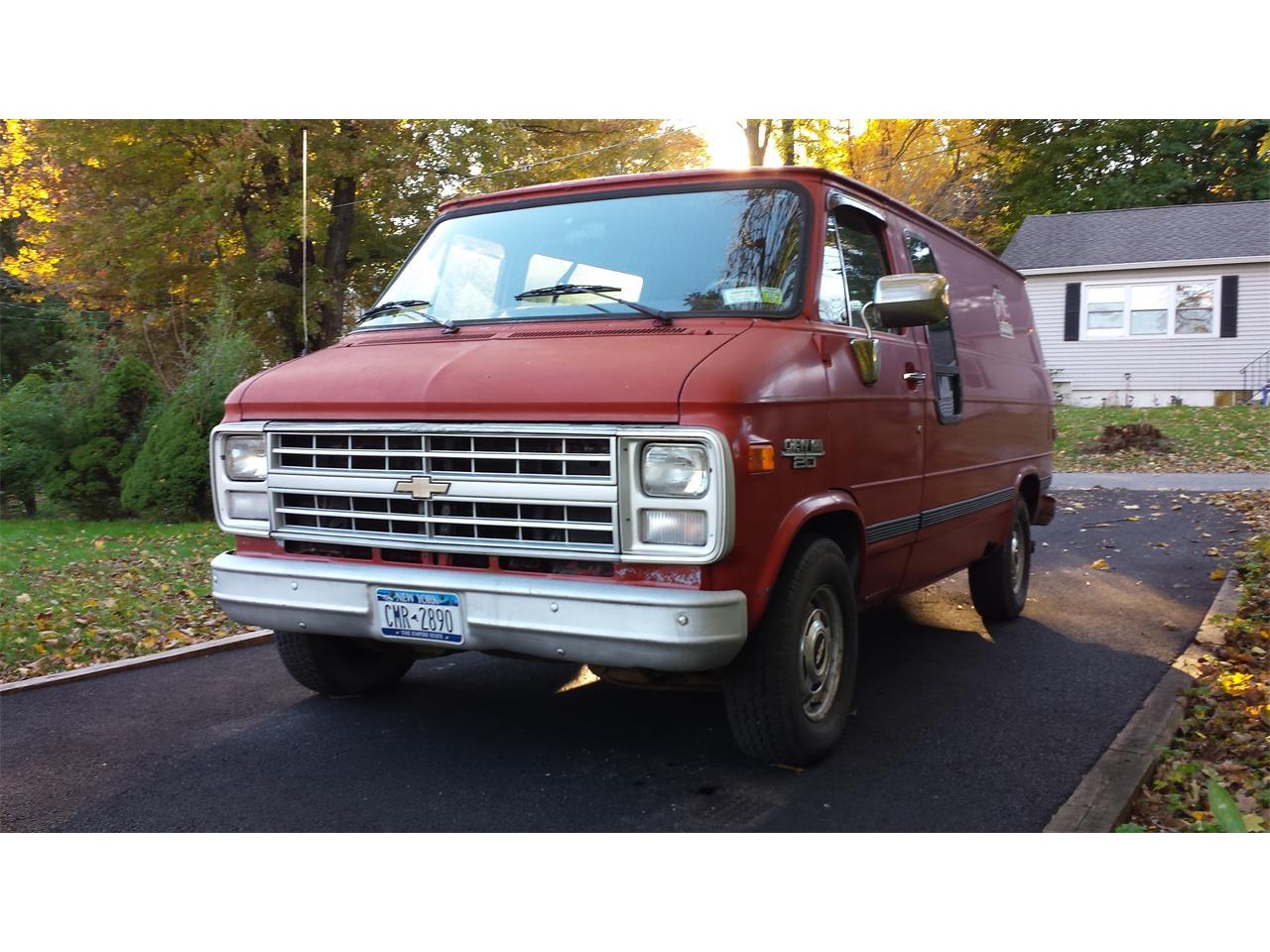 1988 Chevrolet G20 For Sale Classiccars Com Cc 1185695