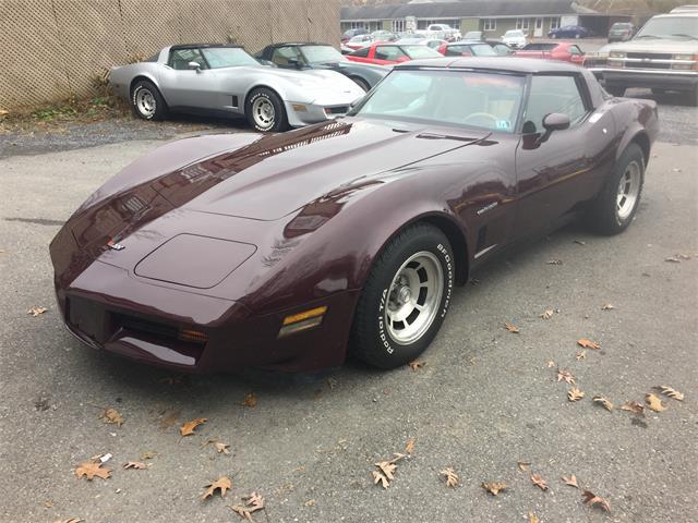 1982 Chevrolet Corvette (CC-1180583) for sale in Mount Union, Pennsylvania