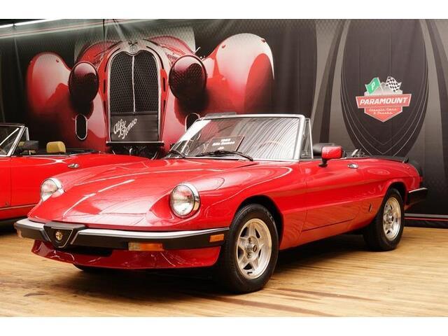 1985 Alfa Romeo Spider (CC-1185913) for sale in Hickory, North Carolina