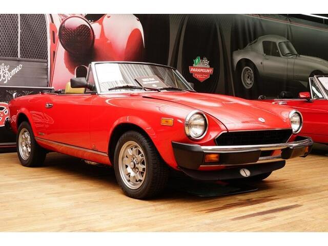 1983 Fiat Spider (CC-1185923) for sale in Hickory, North Carolina