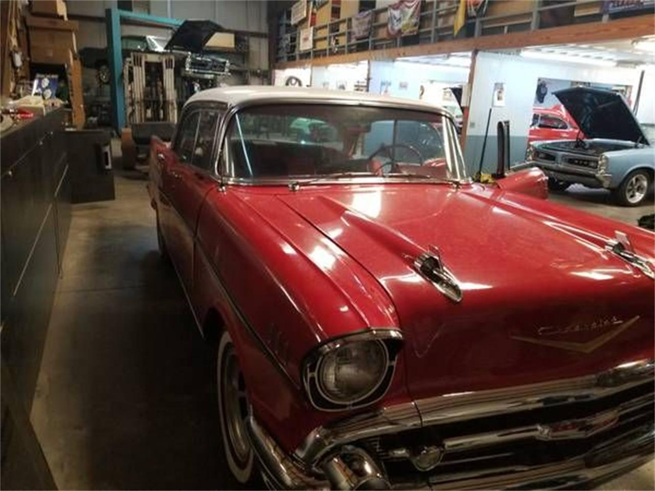 1957 Chevrolet Bel Air (CC-1186004) for sale in Cadillac, Michigan