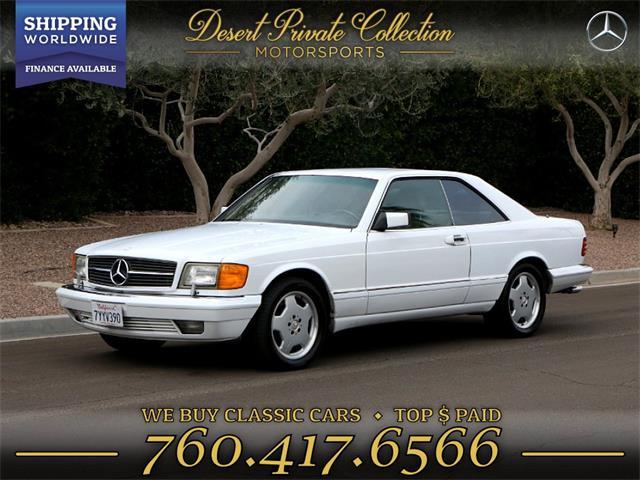1991 Mercedes-Benz 560SEC (CC-1186380) for sale in Palm Desert , California
