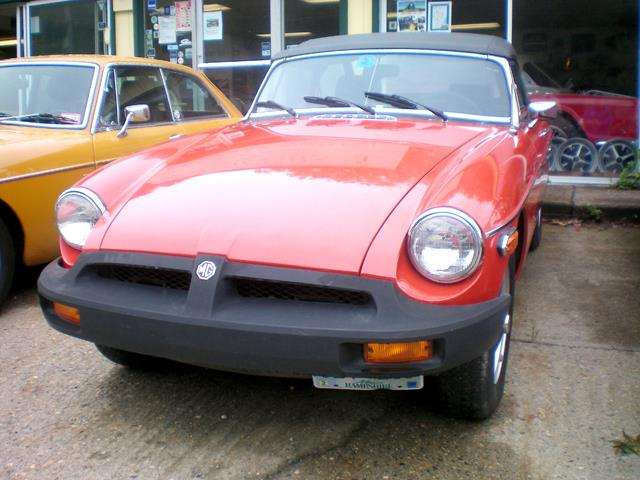 1976 MG MGB (CC-1186477) for sale in Rye, New Hampshire