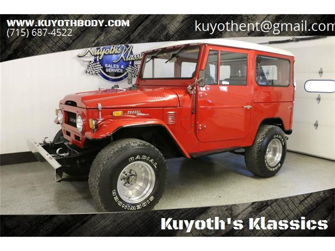 1972 Toyota Land Cruiser FJ (CC-1180711) for sale in Stratford, Wisconsin