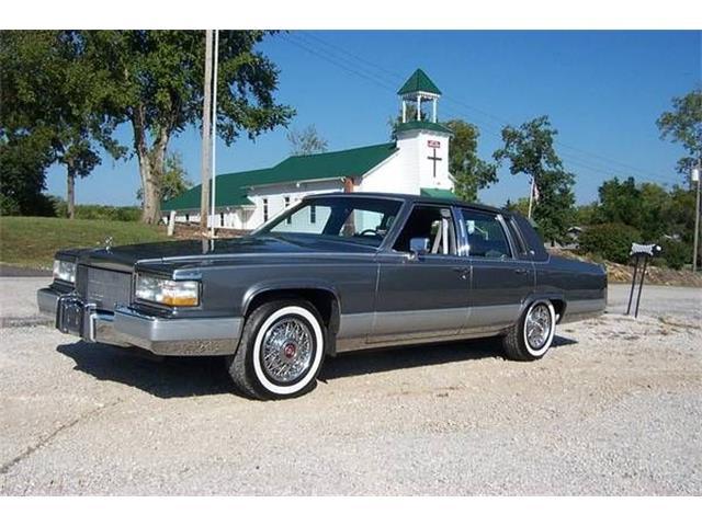 1990 Cadillac Brougham (CC-1187391) for sale in Cadillac, Michigan