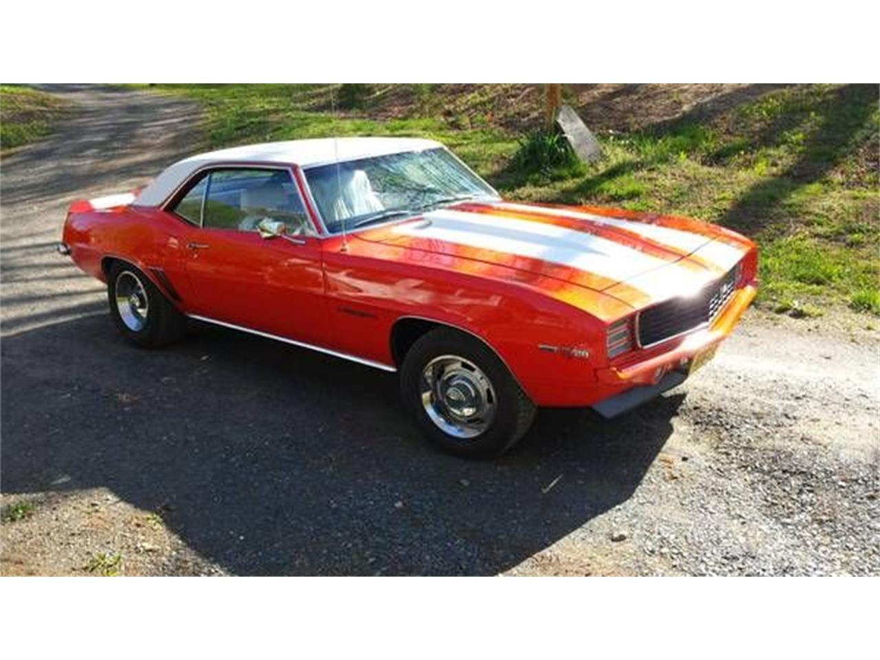 1969 Chevrolet Camaro (CC-1187801) for sale in Cadillac, Michigan