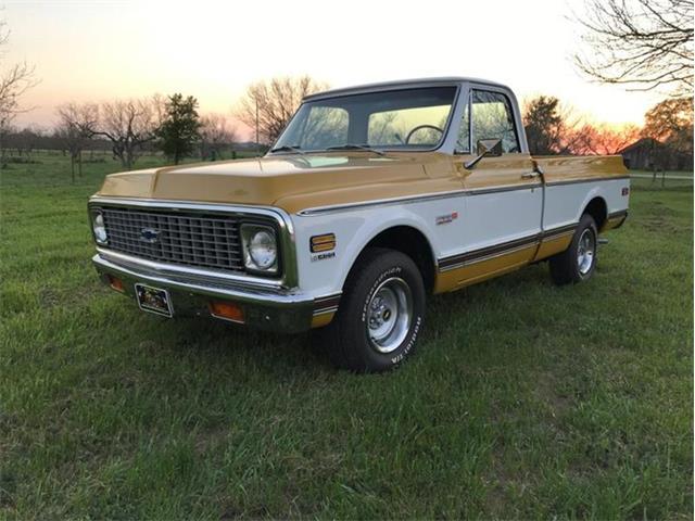 1972 Chevrolet Silverado (CC-1188119) for sale in Fredericksburg, Texas