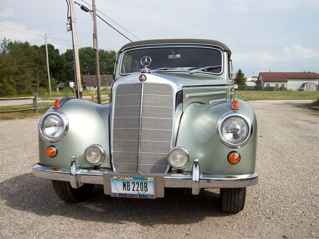 1952 Mercedes-Benz 220 (CC-1188215) for sale in medina, Ohio