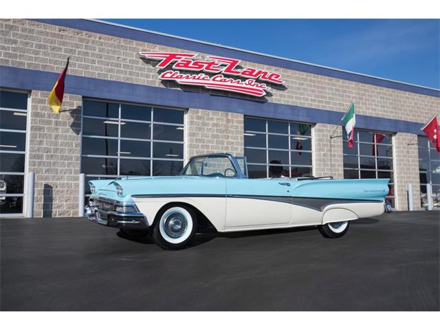 1958 Ford Fairlane Sunliner (CC-1188519) for sale in St. Charles, Missouri