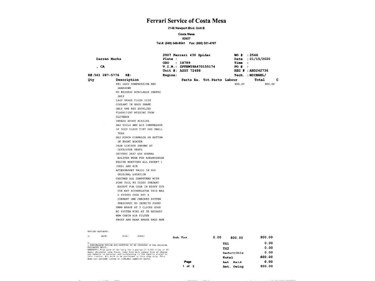 2007 Ferrari 430 (CC-1188559) for sale in Laguna Beach, California