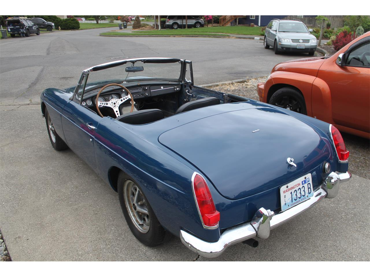 1967 MG MGB (CC-1189897) for sale in Carnation, Washington