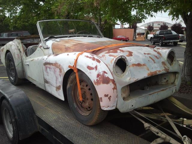 1959 Triumph TR3 (CC-1189914) for sale in CARNATION, Washington
