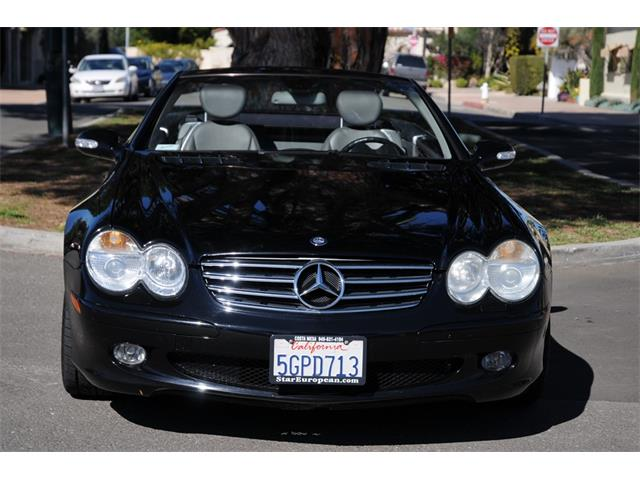 2003 Mercedes-Benz SL500 (CC-1191591) for sale in Costa Mesa, California