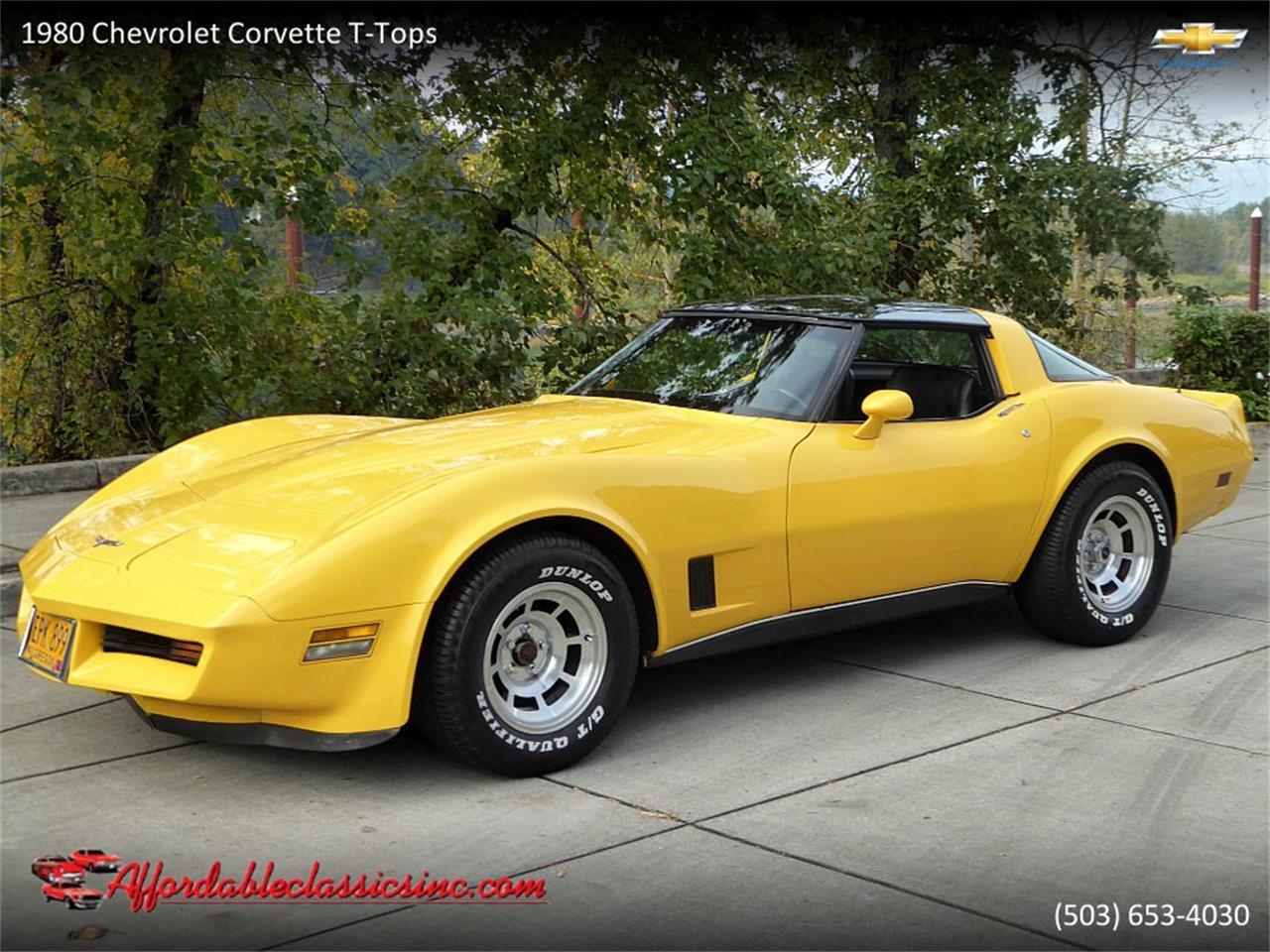 1980 Corvette For Sale >> 1980 Chevrolet Corvette For Sale Classiccars Com Cc 1192042