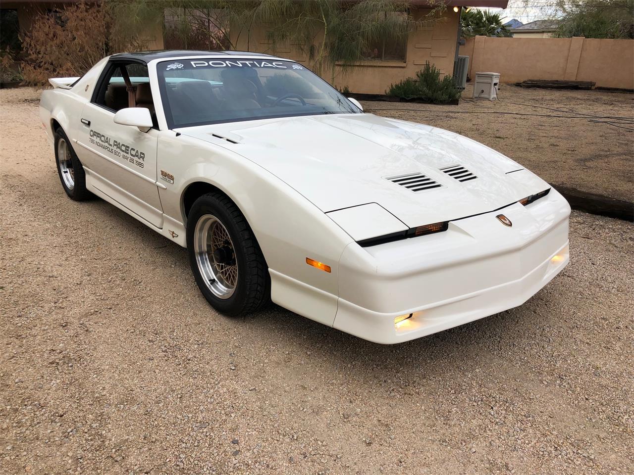 1989 Pontiac Firebird Trans Am Turbo Indy Pace Car Edition (CC-1192465) for sale in Scottsdale, Arizona