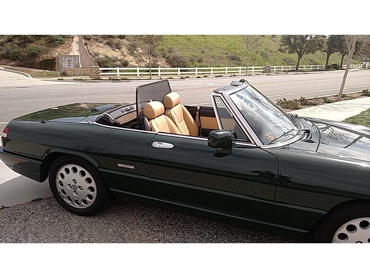 1992 Alfa Romeo Spider (CC-1192734) for sale in Simi Valley, California