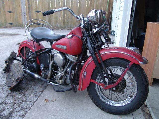 1948 Harley-Davidson Panhead (CC-1193461) for sale in Cadillac, Michigan