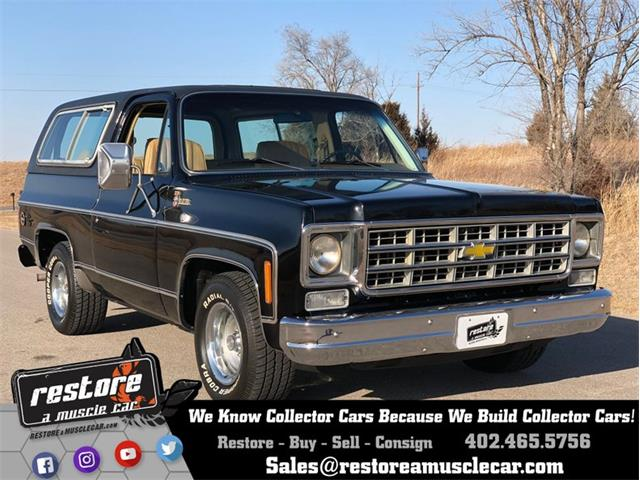 1978 Chevrolet Blazer (CC-1190352) for sale in Lincoln, Nebraska