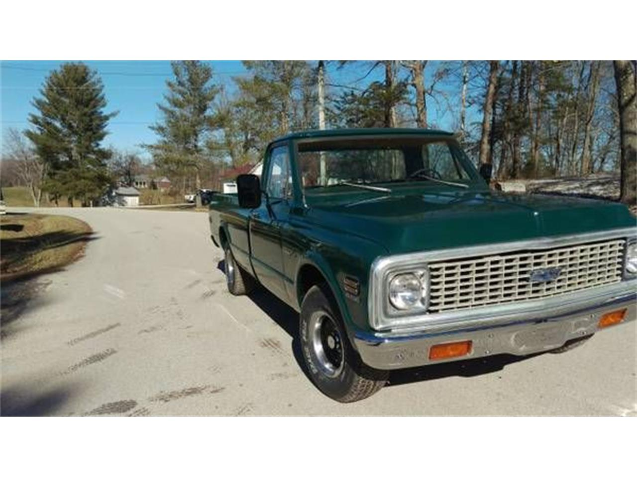 1972 Chevrolet C10 (CC-1193548) for sale in Cadillac, Michigan