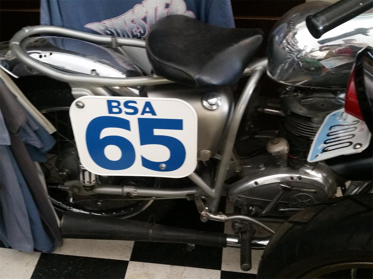 1965 BSA Motorcycle (CC-1193657) for sale in Carnation, Washington