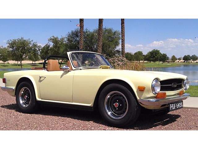1969 Triumph TR6 (CC-1190421) for sale in Rye, New Hampshire