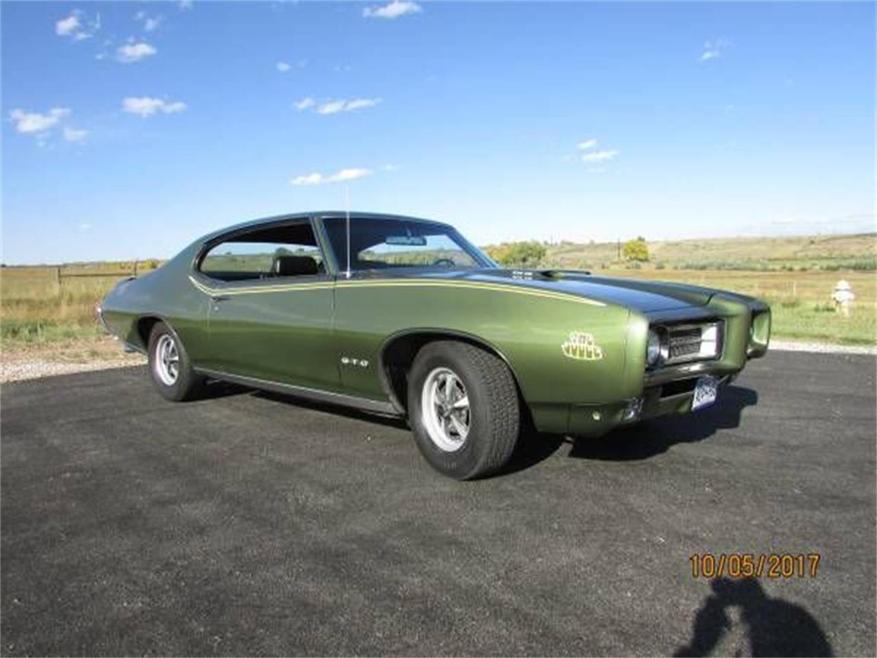 1969 Pontiac GTO (CC-1195203) for sale in Cadillac, Michigan