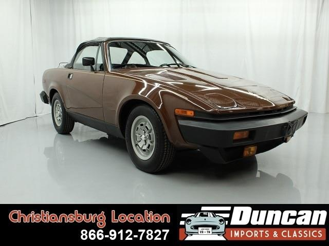 1980 Triumph TR7 (CC-1195981) for sale in Christiansburg, Virginia