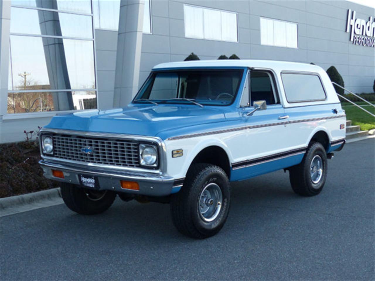 1972 Chevrolet Blazer (CC-1197066) for sale in Charlotte, North Carolina