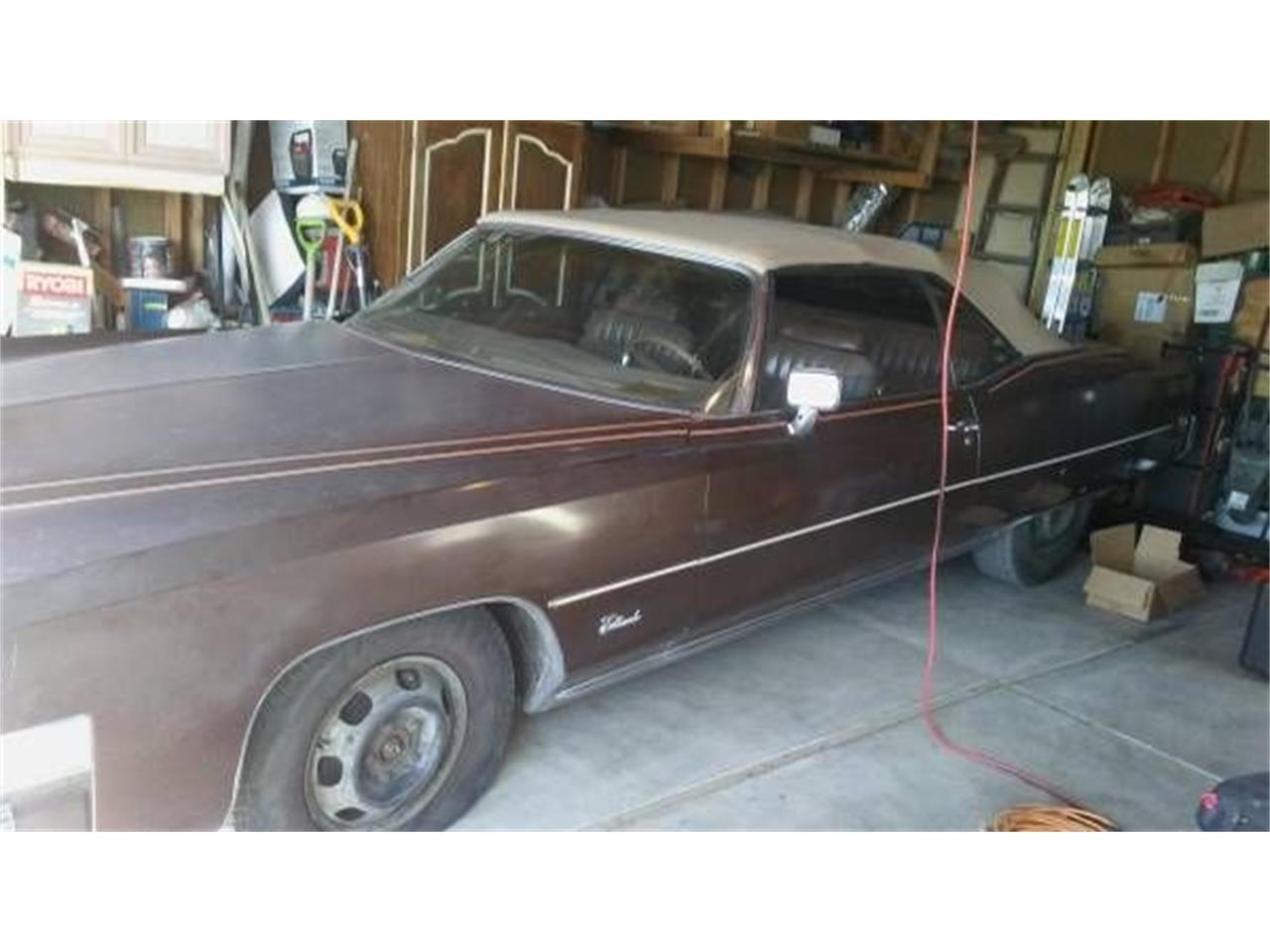 1973 Cadillac Eldorado (CC-1197803) for sale in Cadillac, Michigan