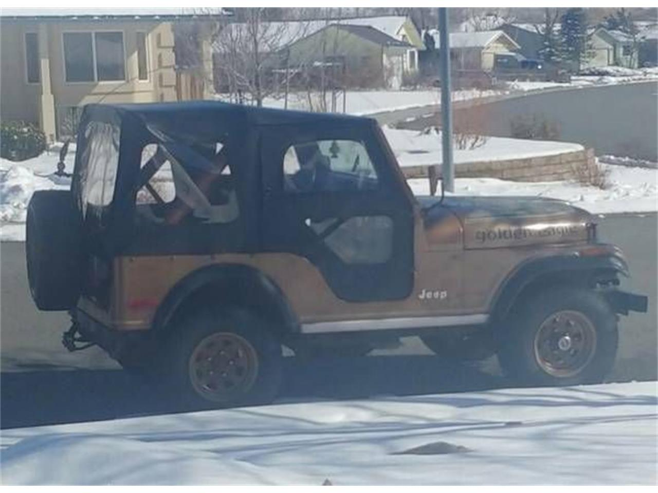 1979 Jeep CJ (CC-1197820) for sale in Cadillac, Michigan
