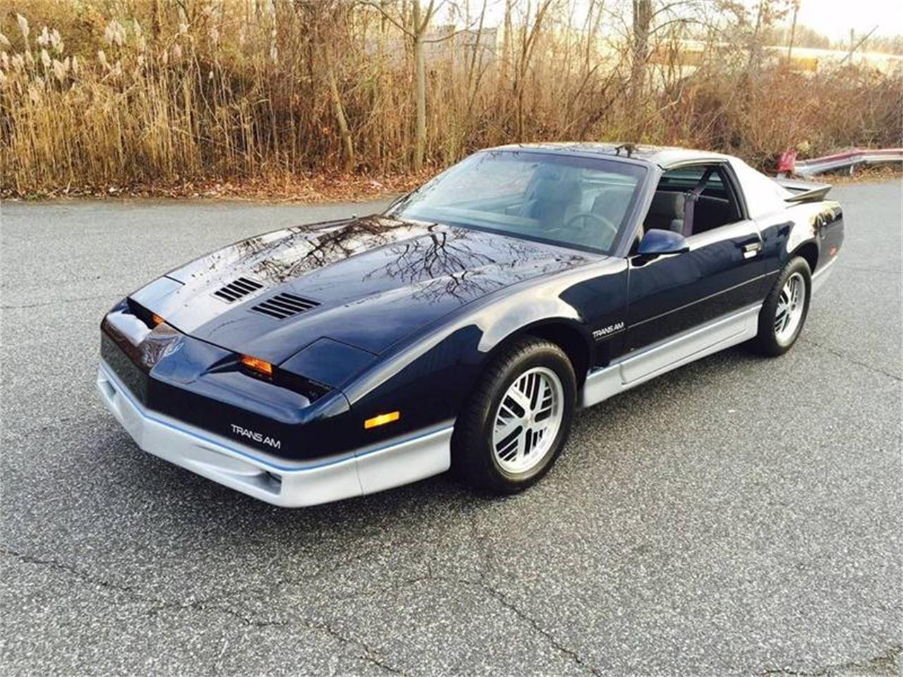 1986 pontiac firebird trans am for sale classiccars com cc 1198438 1986 pontiac firebird trans am for sale