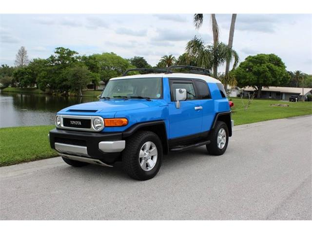 2007 Toyota FJ Cruiser (CC-1199470) for sale in Clearwater, Florida