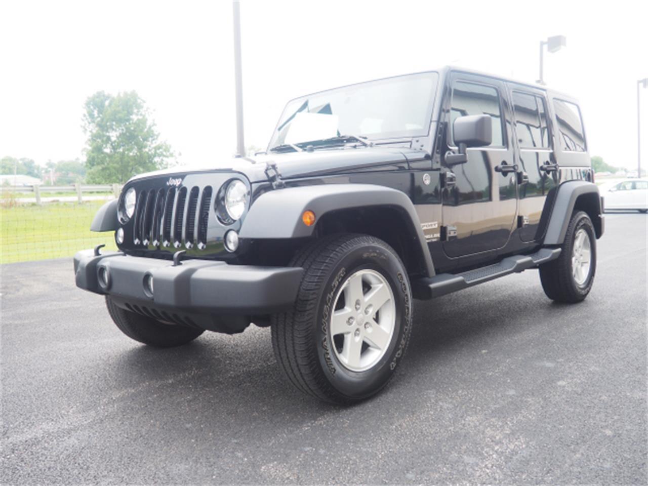2015 Jeep Wrangler (CC-1199549) for sale in Marysville, Ohio