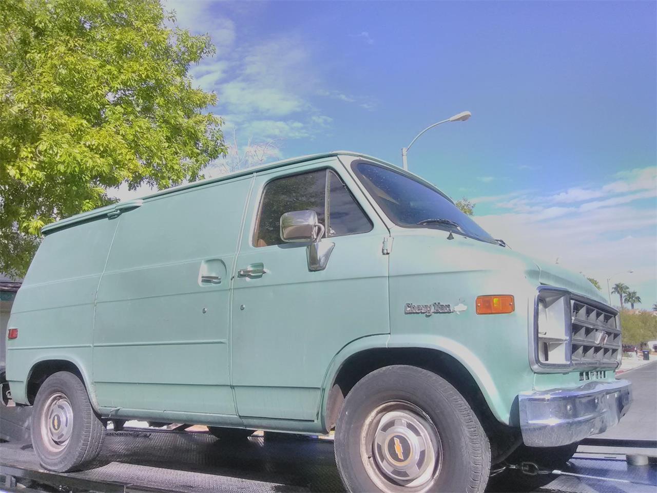 1979 Chevrolet Van For Sale Classiccars Com Cc 1190098