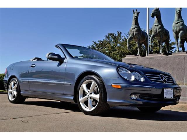 2005 Mercedes-Benz CLK (CC-1199801) for sale in Fort Worth, Texas