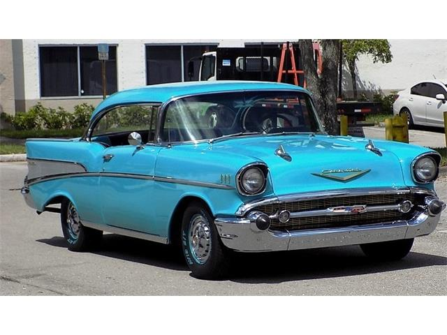 1957 Chevrolet Bel Air (CC-1201197) for sale in pompano beach, Florida